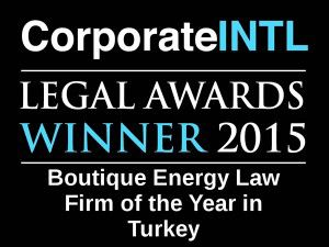 2015 - Legal Awards Logo - Boutique Energy Turkey