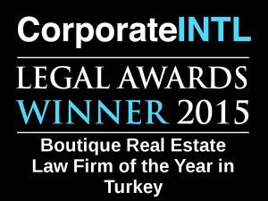 2015 - Legal Awards Logo - Boutique Real Estate Turkey